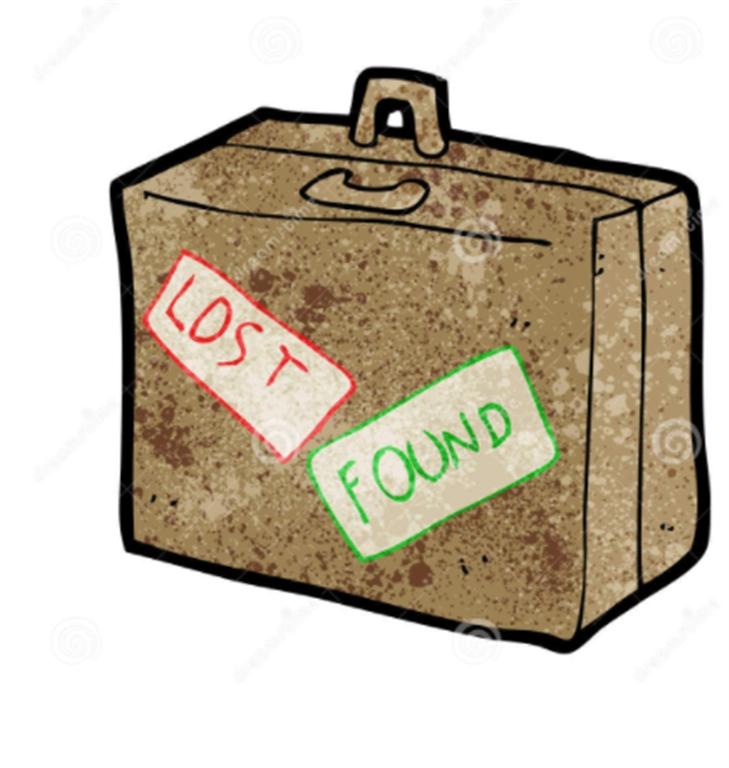 lost en found bagage