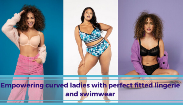 Missie Naron | Empowering curved ladies with perfect fitted lingerie and swimwear